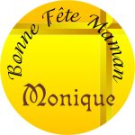 Badge miroir Maman