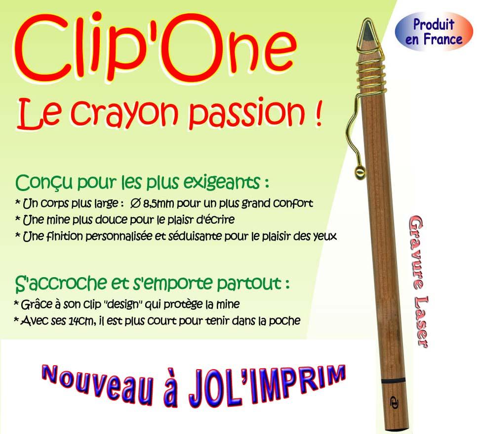 crayon clip one