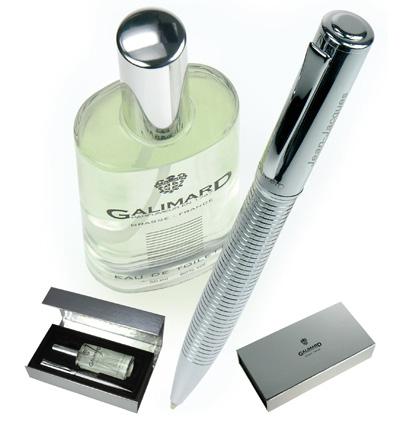 Coffret stylo parfum homme