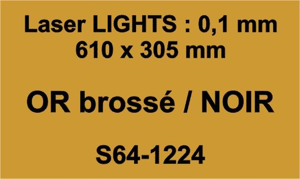 laser or noir