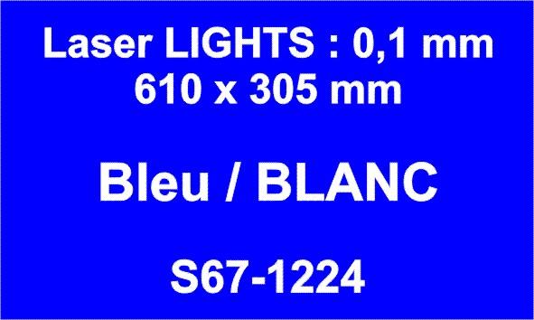 laser bleu blanc