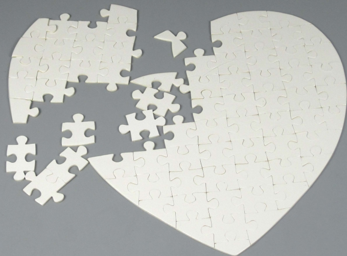 Puzzle cœur