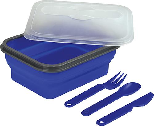 boite plastique cuisine bleu